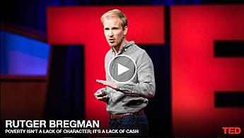 Rutger Bregman TED talk