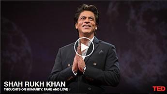 Shah Rukh Khan TED talk